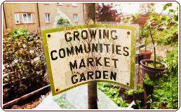 Allotments - Community garden noticeboard