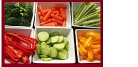 Vegetables for dips