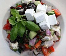 Easy salad recipes - Greek Salad