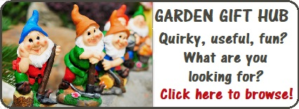 garden gnomes in a row