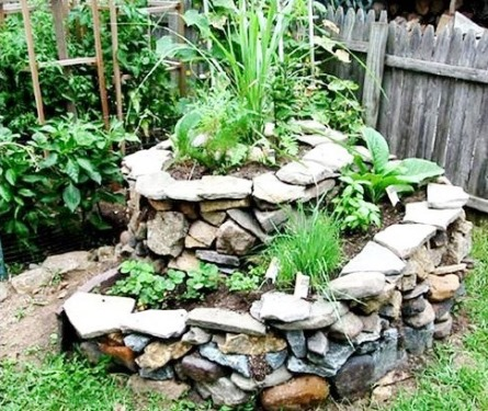 Growing Herbs How to grow them and make a herbal garden spiral