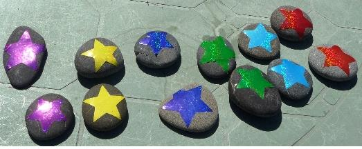 Kids' Garden Crafts - Memory Stones