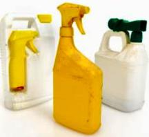 Unsafe compost materials-chemical sprays