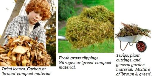 how to make compost with brown and green layers