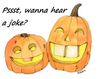 garden jokes - pumpkin joke