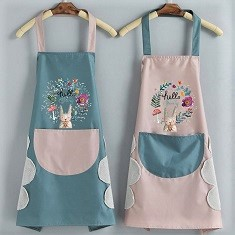 Aprons for gardening and cooking