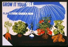 USA Victory Garden Poster 1942